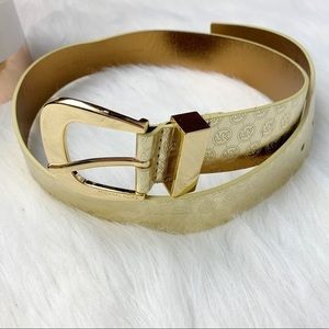 Michael Kors Gold Belt